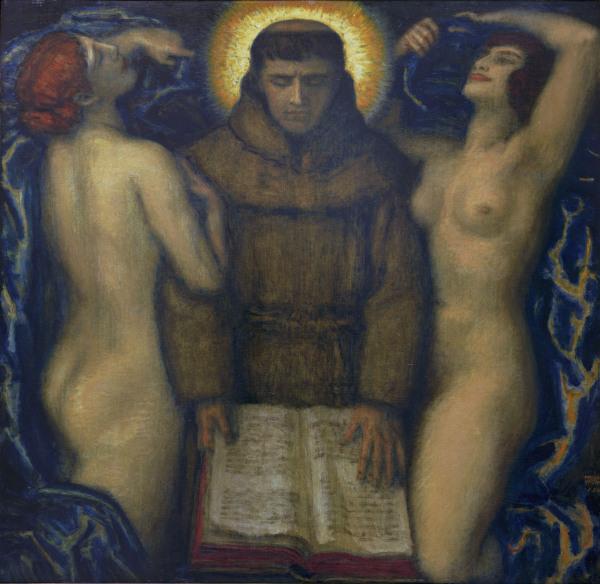 F.v.Stuck, Versuchung des Hl.Antonius - F.v.Stuck / Temptation of St. Antony -